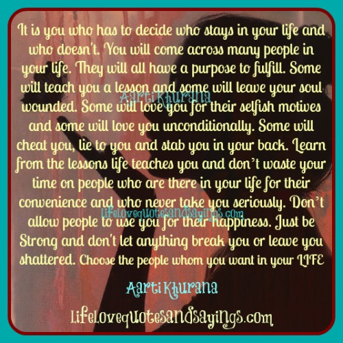Quotes About A New Person In Your Life: Wrong People In Your Life Quotes. QuotesGram