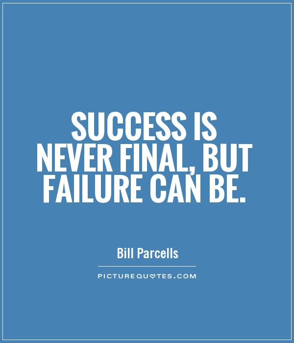 Inspirational Quotes About Failure: Bill Parcells Quotes. QuotesGram