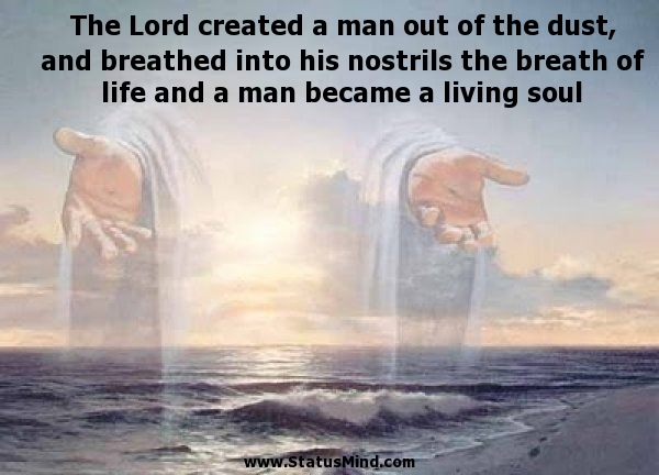 Creation Of Man Bible Quotes Quotesgram