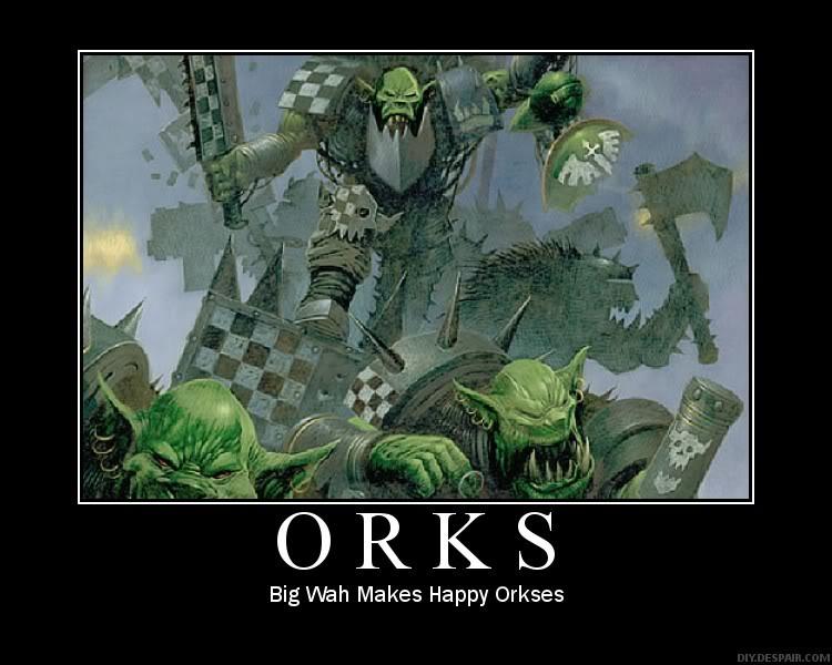 Ork Warhammer 40k Quotes Quotesgram