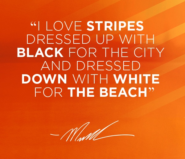 Quotes About Fashion Stripes. QuotesGram