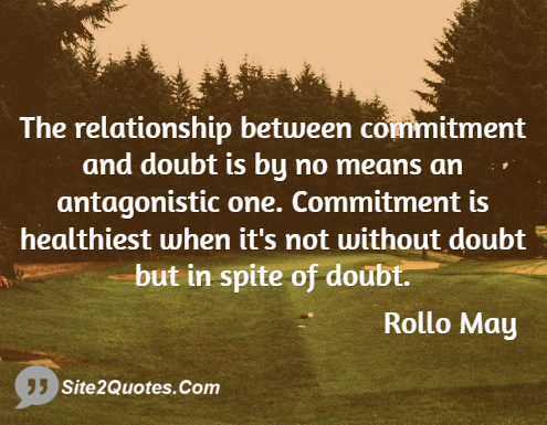 Dating and committed relationship