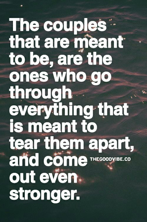 Couples That Are Meant To Be Quotes. QuotesGram