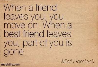 Sad Quotes About Frien... Quotes About Friendship Ending