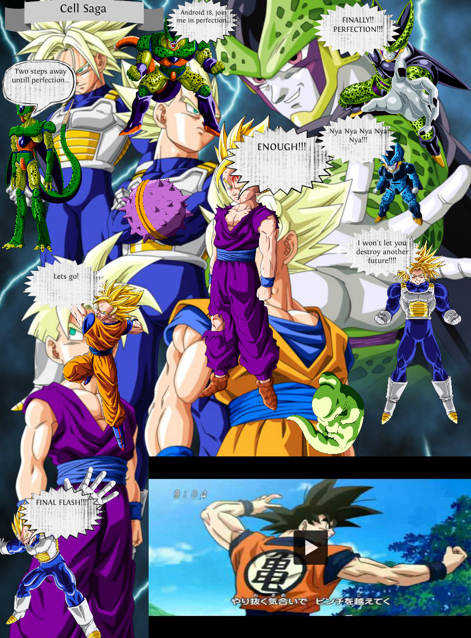Cell Saga Th Saga In Dragon Ball Z Source