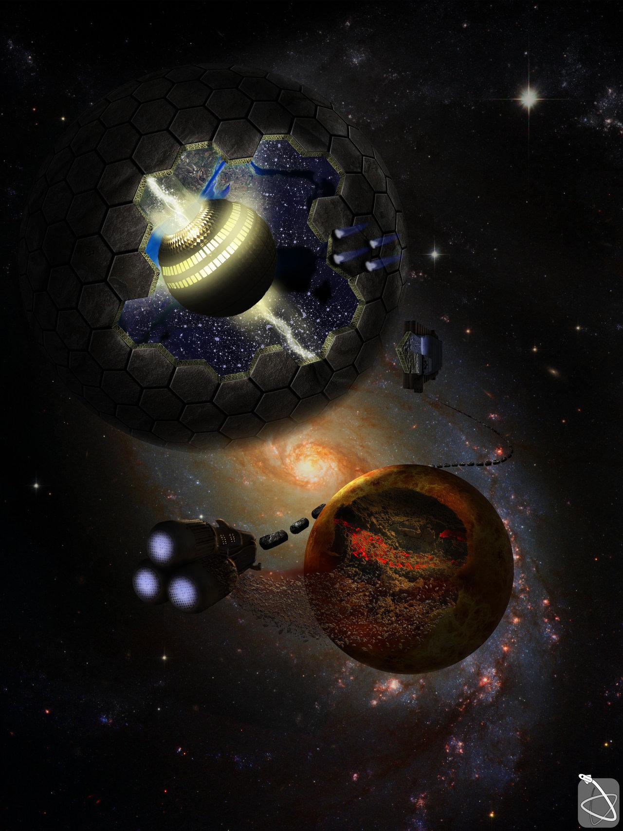 dyson sphere star
