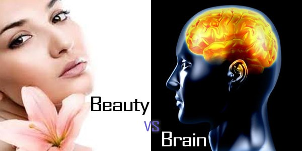 essay on beauty or brains