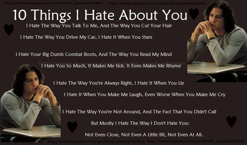Why i like you so much poem