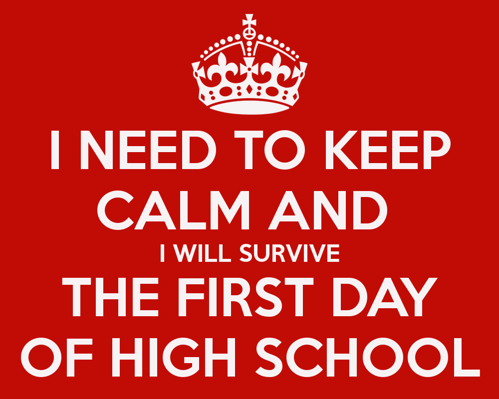 Mi first day at high school