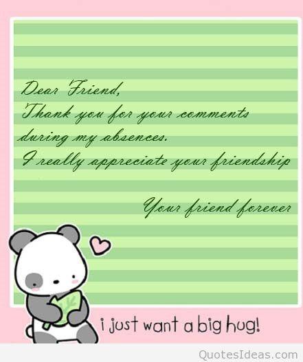 Dear Friend Quotes. QuotesGram