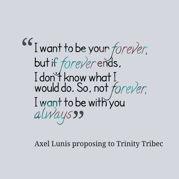 I Want To Live With You Forever Quotes