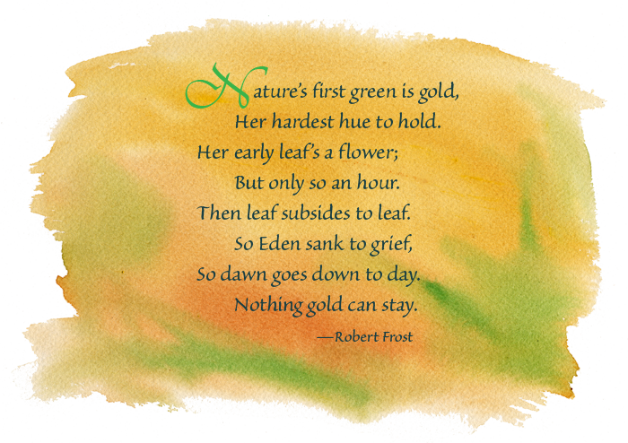 the theme of nature in robert frosts works Free essay on theme of nature i n robert frost poems available totally free at echeatcom, the largest free essay community.