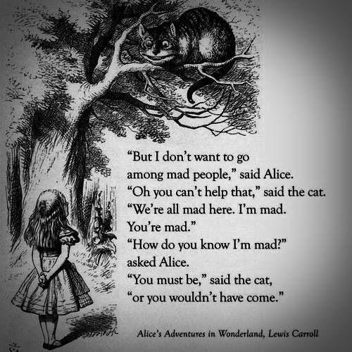 Cheshire Cat Alice In Wonderland Quotes: Alice In Wonderland Caterpillar Quotes. QuotesGram