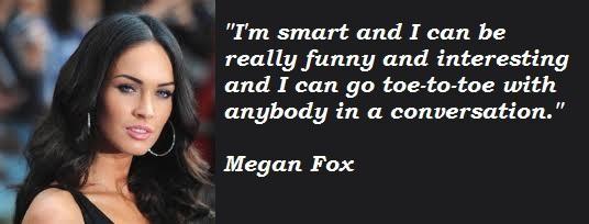 Megan Fox Quotes On Love. QuotesGram Megan Fox Quotes