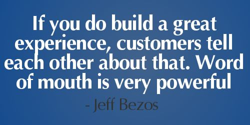 how do you build a professional working relationship with your customers