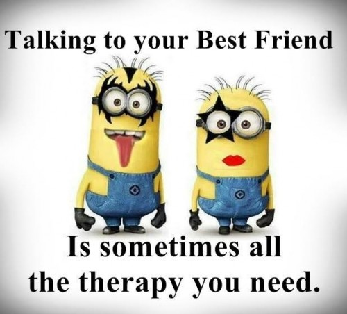 Minion Best Friend Quotes. QuotesGram