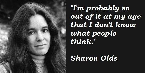 Sharon olds and confessional poetry essay