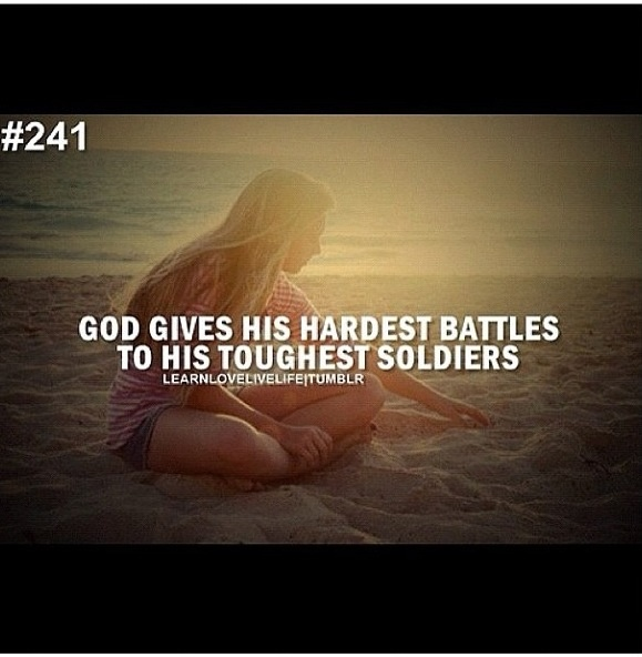 Tough battles bible quotes quotesgram for Warrior bible verse tattoos