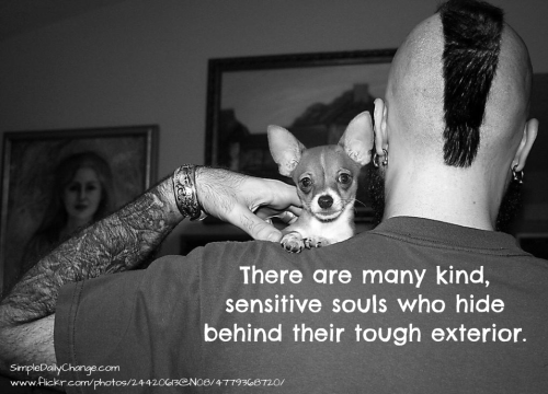 Tough tattoo quotes quotesgram for Tough exterior quotes