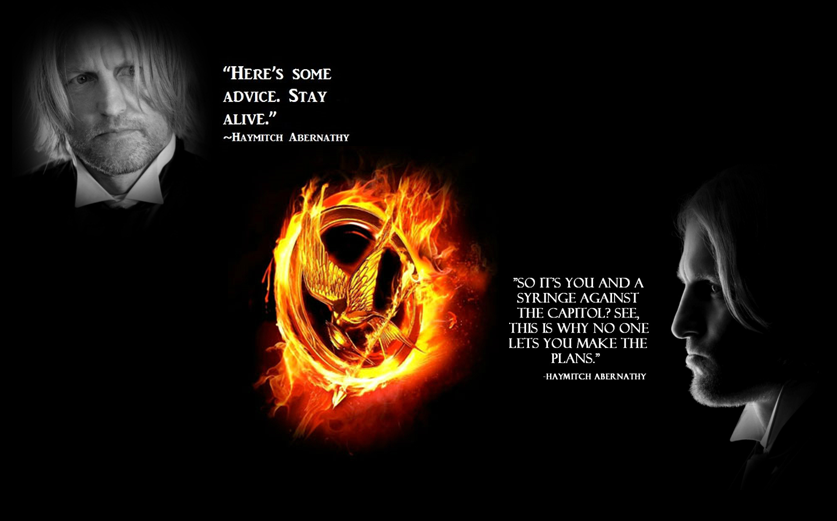 haymitch hunger games quotes quotesgram