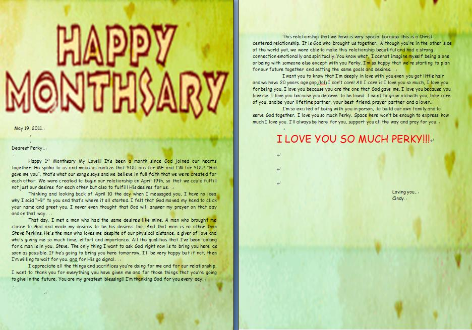 Monthsary love letter for boyfriend tagalog quotes her the holletagalog