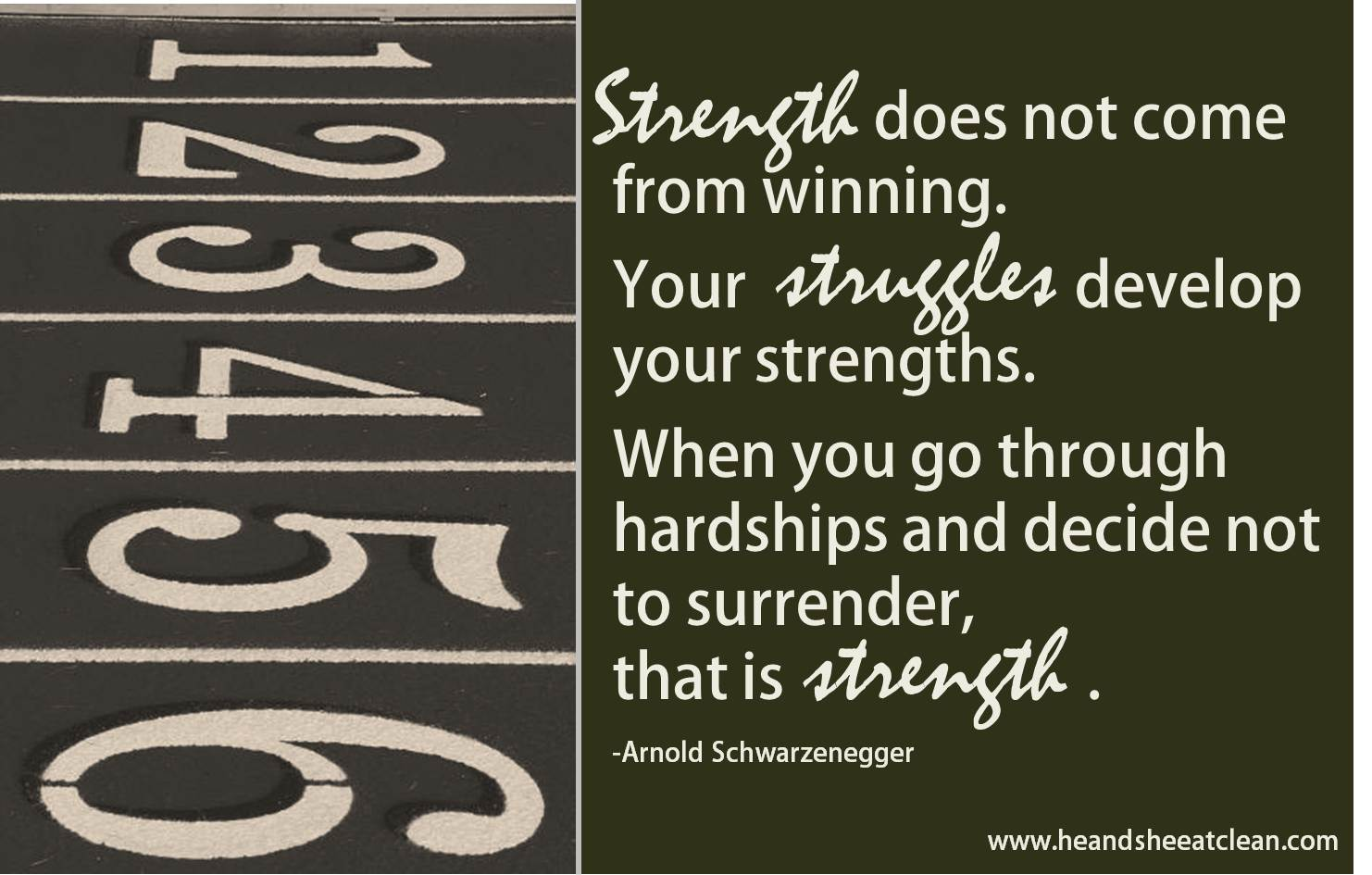 Track And Field Quotes...