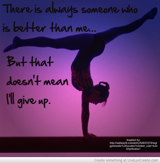 Famous Gymnastics Quotes And Sayings. QuotesGram