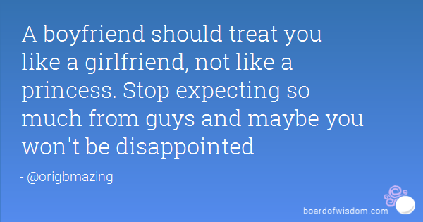 How to treat a girl your dating