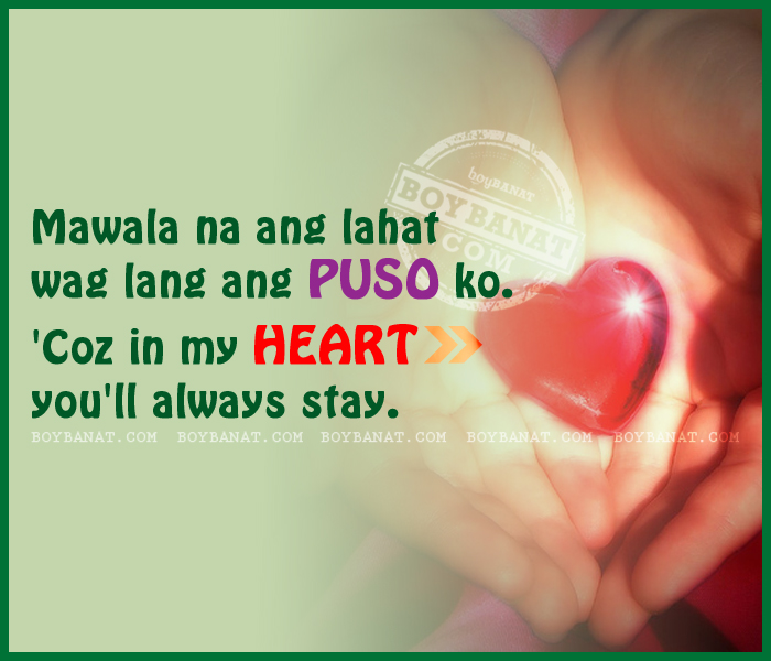 My tagalog for message love A lovely