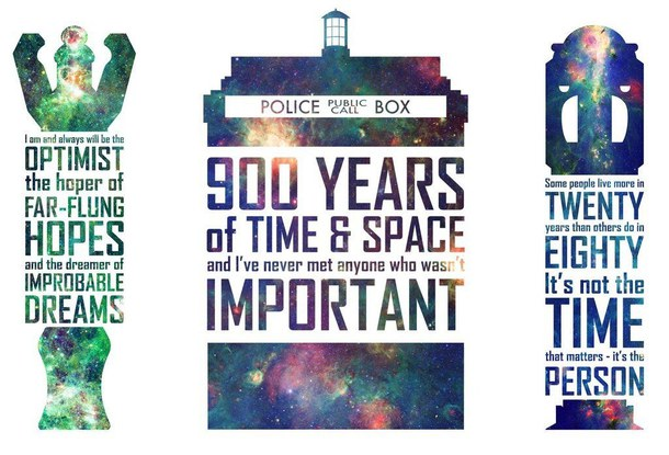 Epic Doctor Who Quotes...