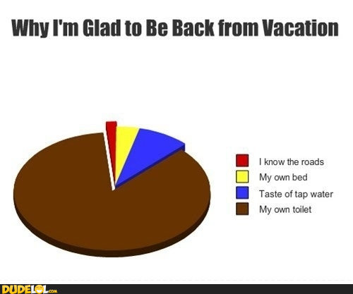 Back To Work Quotes After Vacation: Coming Back From Vacation Quotes. QuotesGram