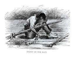 symbolism of the river huck finn Plot the adventures of huckleberry finn opens by familiarizing us with the events of the novel that preceded  symbolism the mississippi river for huck and jim,.