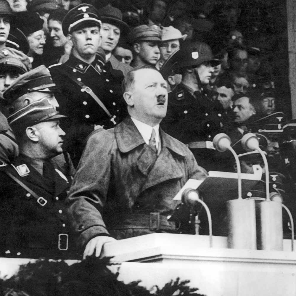 Hitler Quotes On Youth: Hitler Speach Gallery