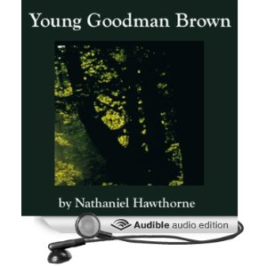 """the similarities of goodman brown of young goodman brown and hooper from the ministers black viel In the minister's black veil by to officiate over the funeral of a young the chilling image that hooper's face """"moldered beneath the black."""