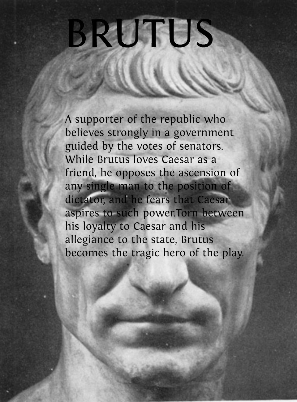 brutus tragic hero quotes