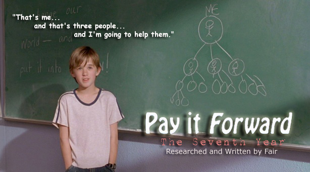 Essay about the movie pay it forward