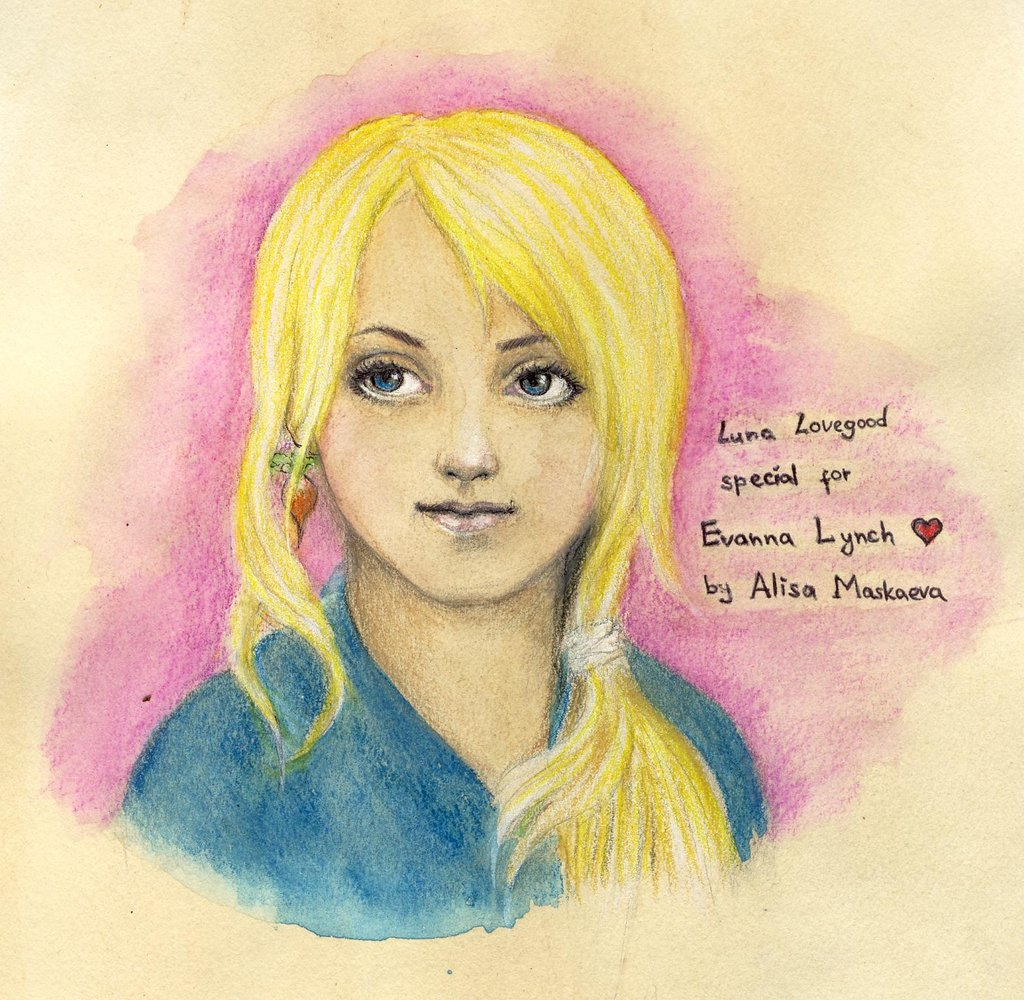 Harry potter luna lovegood quotes quotesgram for Luna lovegood coloring pages