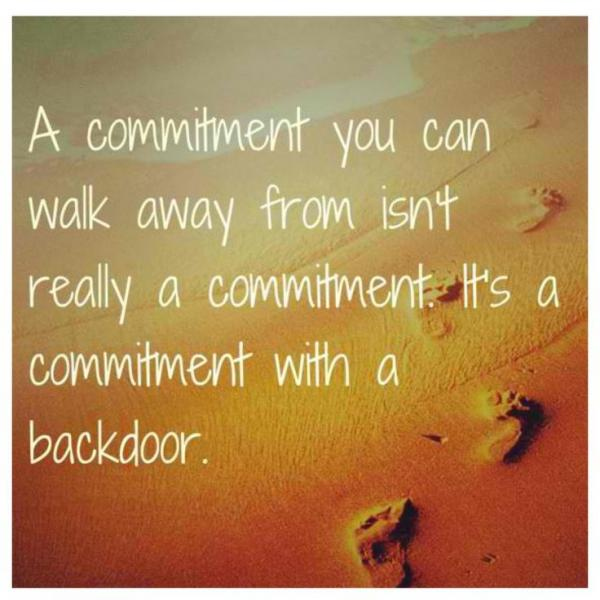 Commitment Quotes For Work Quotesgram: Quotes About Commitment Issues. QuotesGram
