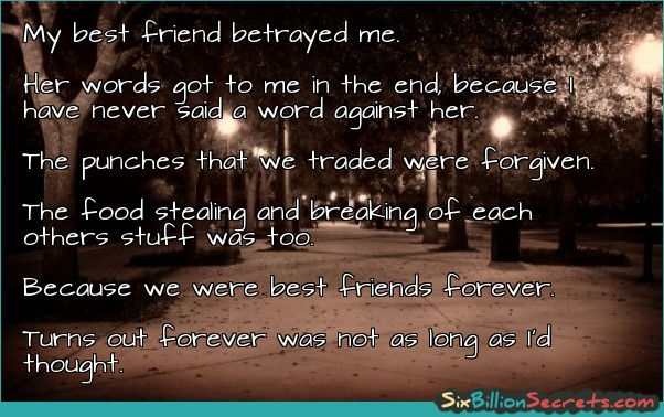 Friend Betrayal Quotes: Best Friend Betrayal Quotes. QuotesGram