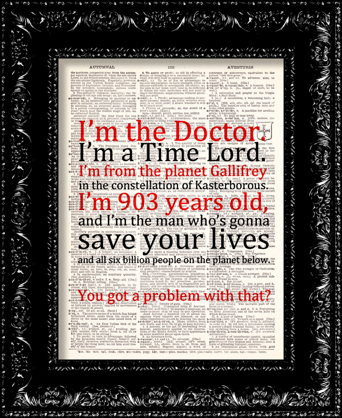 Doctor Who Quotes David Tennant Allons Y