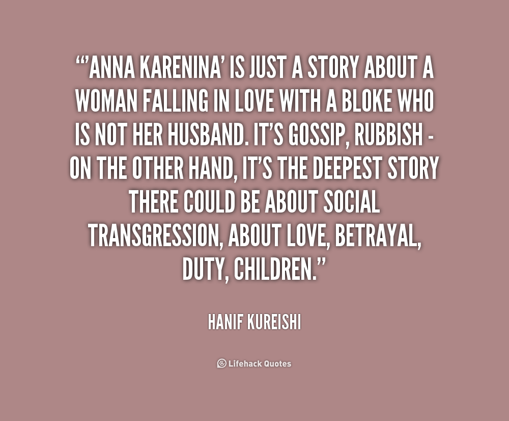 Quotes About Love: Anna Karenina Quotes About Love. QuotesGram