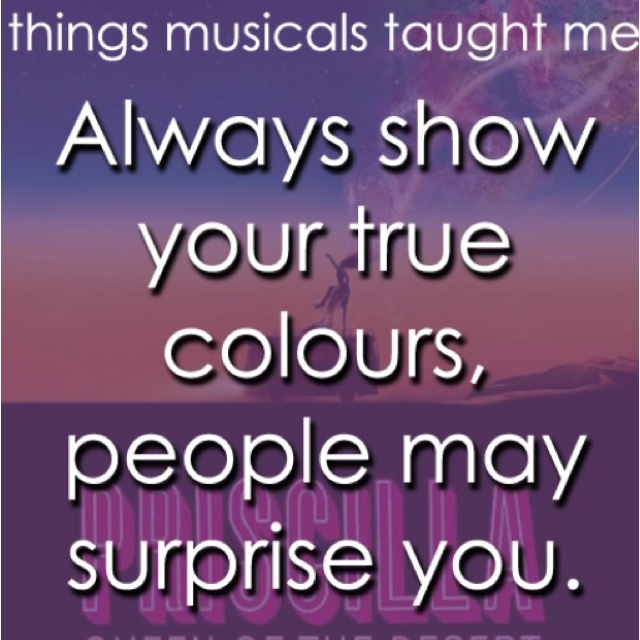 Quotes From Musical Theater Quotesgram