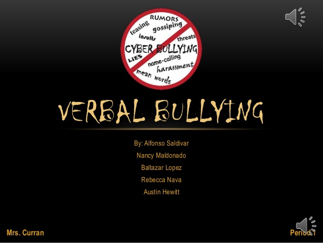 Sad quotes about bullying - Verbal Bullying Quotes Quotesgram