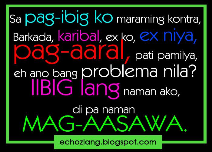 Tagalog Quotes Patama Sa Ex. QuotesGram