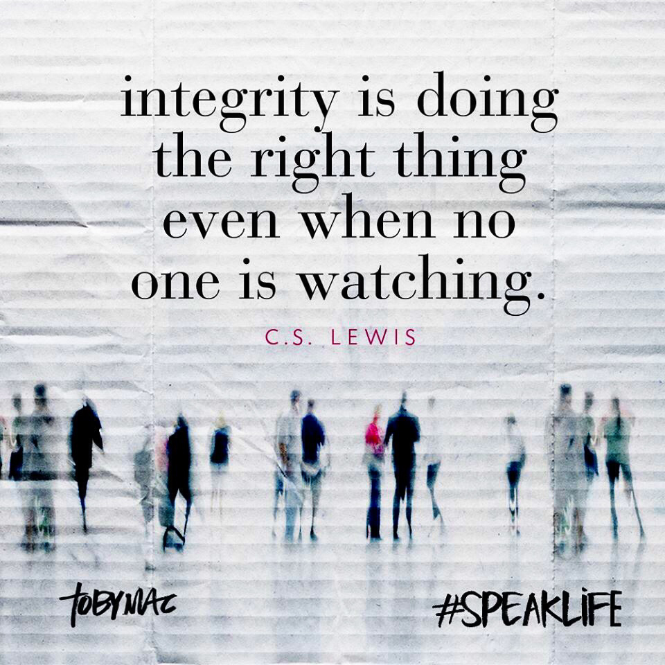 Quotes About Integrity And Ethics. QuotesGram