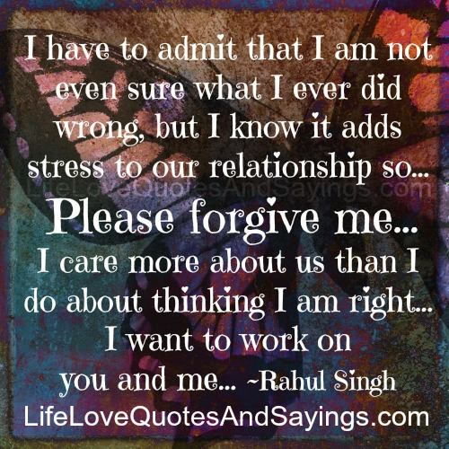 Forgive Me Quotes Love. QuotesGram