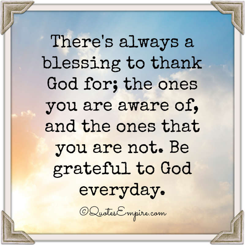 Gods Quotes: Gods Blessings Quotes. QuotesGram