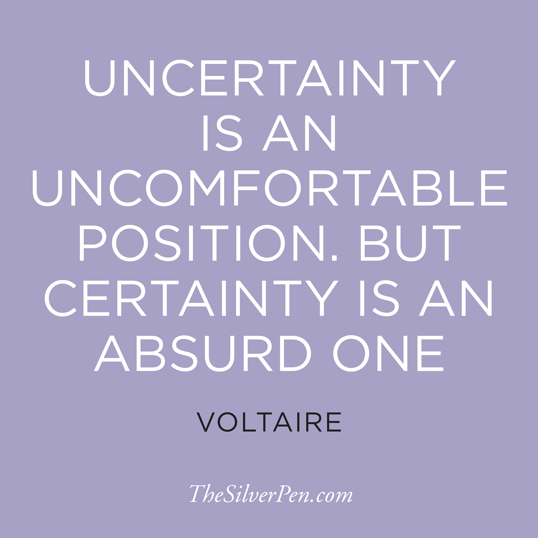 Quotes About Uncertainty In A Relationship: Inspirational Quotes Future Uncertainty. QuotesGram