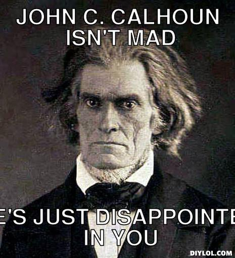 henry clay john c calhoun and Two titans of american 19th century politics, john c calhoun and henry clay, shaped the united states with their opposing views in this lesson.