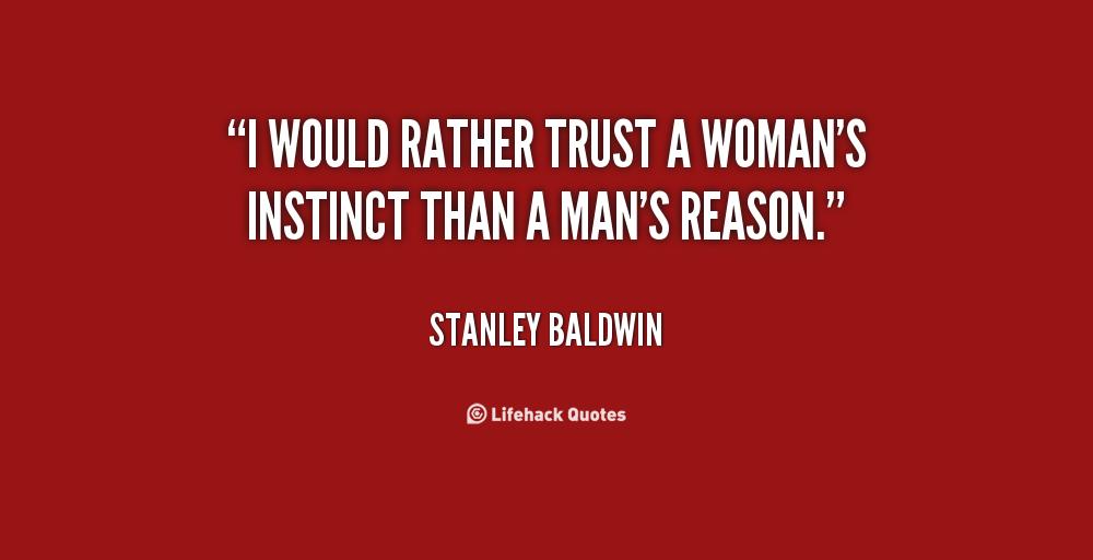 Womans Instinct Quotes. QuotesGram